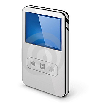 Personal Media Player Stock Image - Image: 22763321