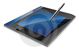 Graphic Tablet Stock Photos - Image: 22763383