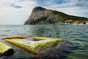 Green Bay Of Noviy Svet On The Crimean Coast. Stock Photo - Image: 22766180
