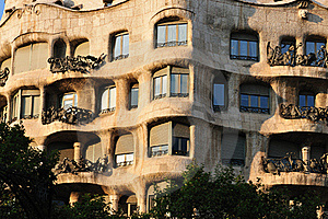 Casa La Pedrera Stock Photo - Image: 22772260