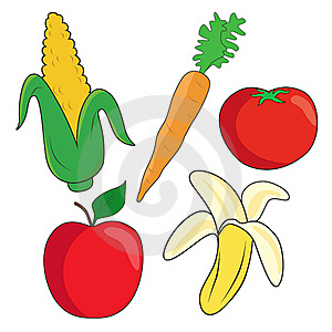 Vegetables And Fruit Stock Photo - Image: 22791390