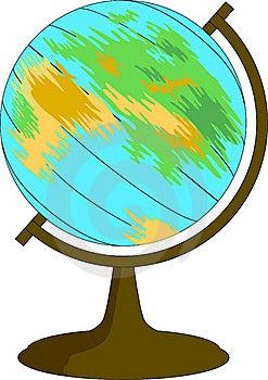 Spinning Globe Royalty Free Stock Image - Image: 22797906