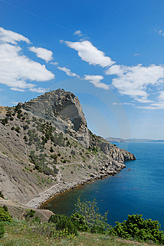 The Crimean Seascape With Cape Hoba-Kaya. Stock Photo - Image: 22798940