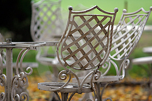 Metal Bench Stock Photography - Image: 2280812