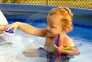 Spielen Mit Booten Lizenzfreie Stockfotos - Bild: 2280928
