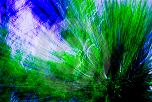 Green / Blue Blend Abstract #7 Royalty Free Stock Images - Image: 2283219