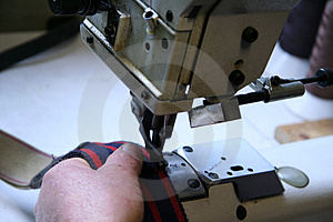 Industrial Sewing Stock Photography - Image: 2285252