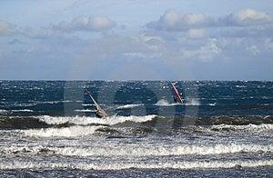 Windsurfing Stock Photo - Image: 2285450
