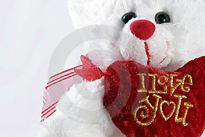 I Love You Teddy Bear Stock Photography - Image: 2288282