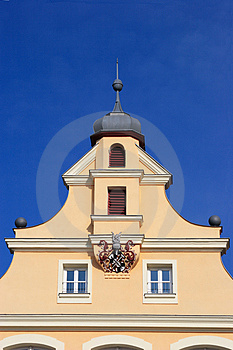 Historical Gable Royalty Free Stock Images - Image: 2288939