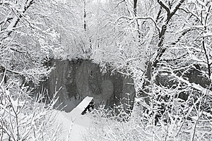 Winter Landscape With River Royalty Free Stock Images - Image: 22800009