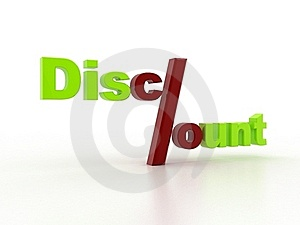 DISCOUNT Royalty Free Stock Images - Image: 22810199