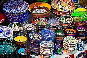 Porcelain Plates Royalty Free Stock Photo - Image: 22811205