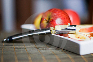 Apple Corer And Divider Royalty Free Stock Photography - Image: 22819507