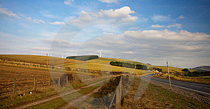 Wind Power Stock Photography - Image: 22828012