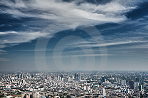 View Of The Daily Bangkok Stock Images - Image: 22829734