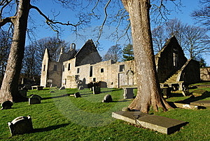 St. Bridgets Kirk Remains Royalty Free Stock Image - Image: 22830366