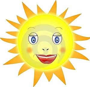 Smiling Sun Stock Image - Image: 22831241