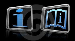 Info Icons Stock Photo - Image: 22838640