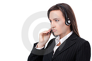 Operator Of Call Center Stock Photo - Image: 22842310