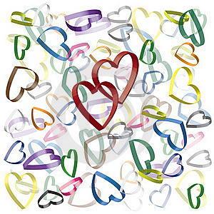 Hearts Background Stock Images - Image: 22844634