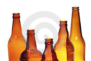 Glass Bottles Royalty Free Stock Photo - Image: 22844775
