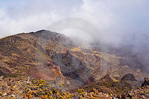 Haleakala Volcano And Crater Maui Hawaii Stock Photos - Image: 22851113