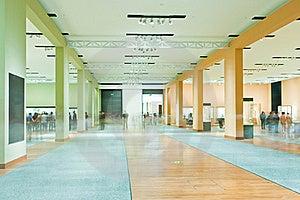 Corridor In Modern Exhibition Hall Stock Photos - Image: 22851953
