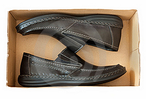 Men's Shoes In A Box Stock Images - Image: 22854224