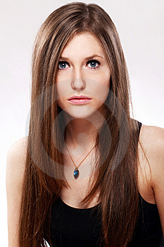 Beautiful Woman With Long Hair Stock Photography - Image: 22856882