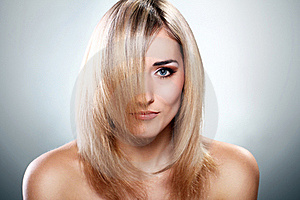 Portrait Of Beautiful Blonde Stock Photos - Image: 22856943