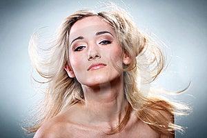 Portrait Of Beautiful Blonde Stock Photography - Image: 22856962