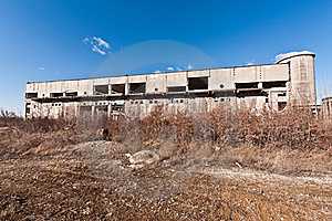 Building  Industrial  In Degradation Royalty Free Stock Photos - Image: 22858138