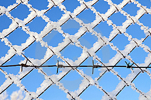 Barbed Wire Royalty Free Stock Image - Image: 22863956