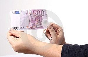 500 Euro Royalty Free Stock Image - Image: 22864856