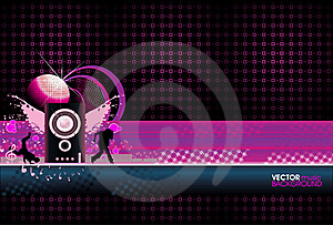 Abstract Music Background Stock Photos - Image: 22865603