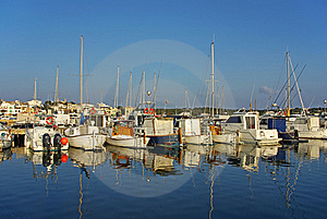 Porto Colom Pier Stock Photography - Image: 22869542
