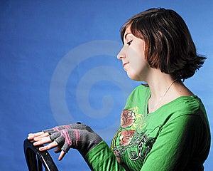 Girl Pretending Royalty Free Stock Photography - Image: 22871237