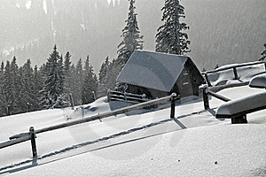 Frozen House At Winter Stock Images - Image: 22874174