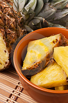 Pineapple Chunks Royalty Free Stock Photography - Image: 22877277