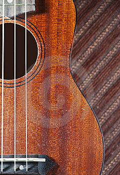 Zoom In Ukulele Royalty Free Stock Image - Image: 22877936