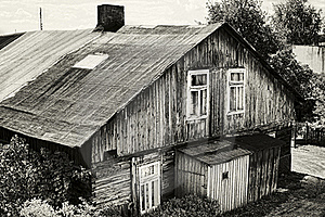 Old House In Poland Royalty Free Stock Images - Image: 22883629