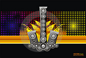 Abstract Music Background Stock Image - Image: 22885371
