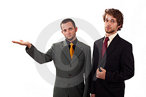 Two Man Standing Royalty Free Stock Photos - Image: 22891768
