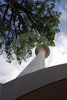 KL Tower Stock Photo - Image: 22891780