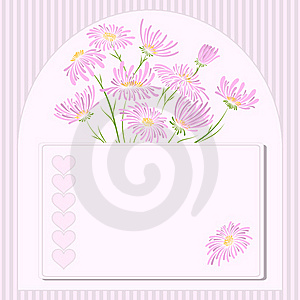 Vector Greeting Card. Stock Image - Image: 22897371