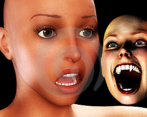 Terror Of Horror Stock Photo - Image: 2290380
