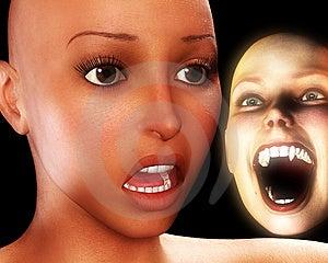 Verschrikking Van Verschrikking 6 Stock Afbeelding - Afbeelding: 2290431
