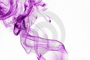 Lilac smoke 2 Stock Image