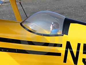 Model Biplane Royalty Free Stock Photography - Image: 2294837